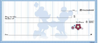 Mickey Silhouette Checks